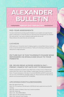 Alexander Bulletin