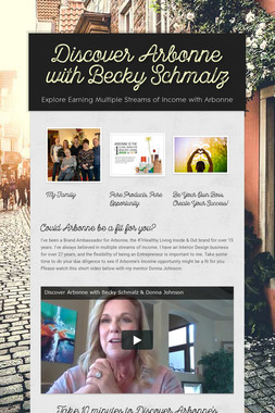 Discover Arbonne with Becky Schmalz