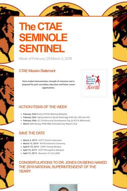 The CTAE SEMINOLE SENTINEL