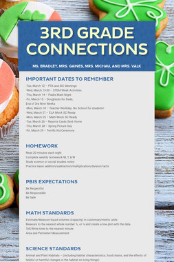 3rd Grade Connections