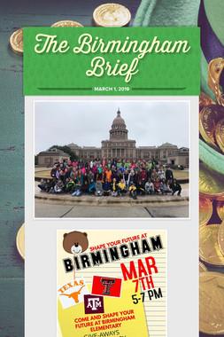 The Birmingham Brief