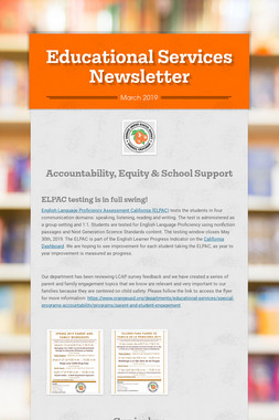 Educational Services Newsletter