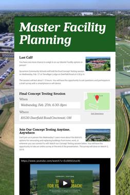 Master Facility Planning