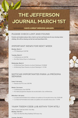 The Jefferson Journal March 1st