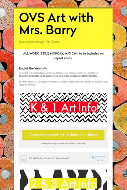Mrs. Barry - Art