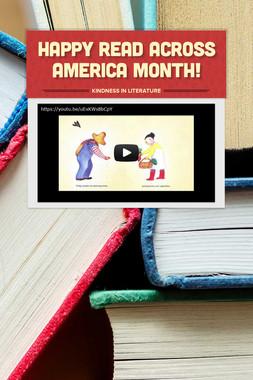 Happy Read Across America Month!
