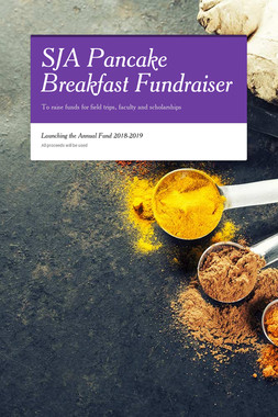 SJA Pancake Breakfast Fundraiser