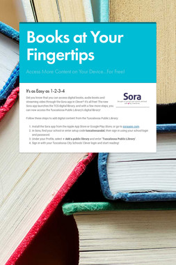 Books at Your Fingertips
