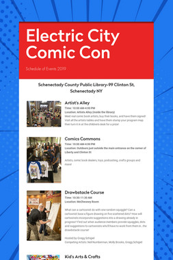 Electric City Comic Con