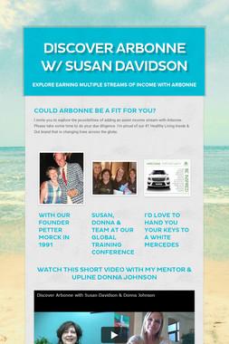 Discover Arbonne w/ Susan Davidson