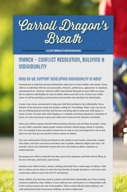 Carroll Dragon's             Breath