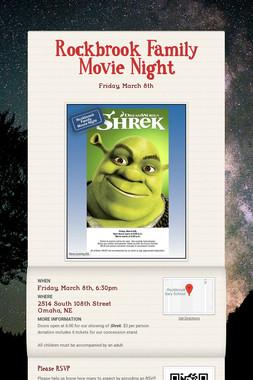 Rockbrook Family Movie Night