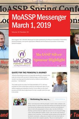 MoASSP Messenger March 1, 2019
