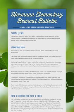 Hermann Elementary Bearcat Bulletin