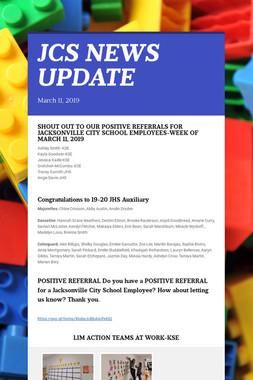 JCS NEWS UPDATE