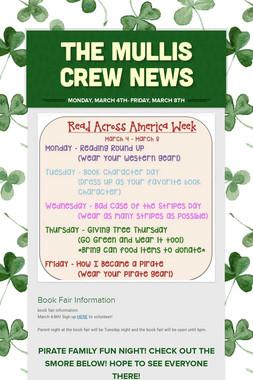 The Mullis Crew News