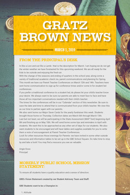 Gratz Brown News