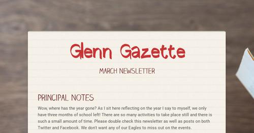 7569fb048a36 Glenn Gazette