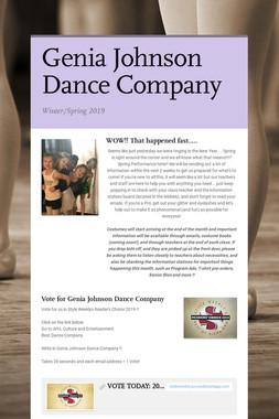 Genia Johnson Dance Company