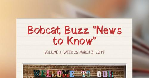 Bobcat Buzz