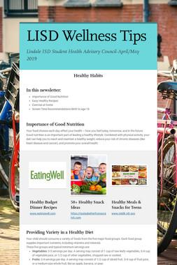 LISD Wellness Tips