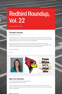 Redbird Roundup, Vol. 22