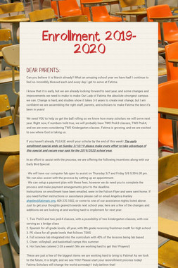 Enrollment 2019-2020