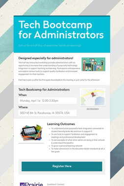 Tech Bootcamp for Administrators
