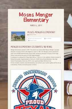 Moses Menger Elementary