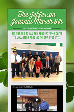 The Jefferson Journal March 8th