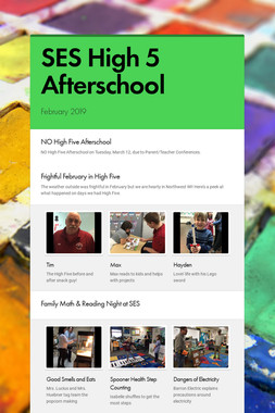 SES High 5 Afterschool