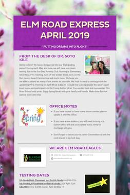Elm Road Express April 2019