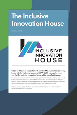 The Inclusive Innovation House