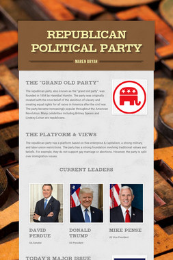 Republican Political Party