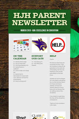HJH Parent Newsletter