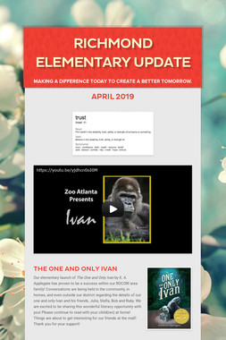 Richmond Elementary Update