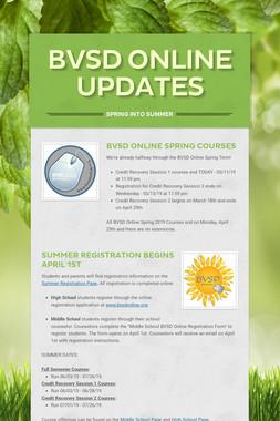 BVSD Online Updates