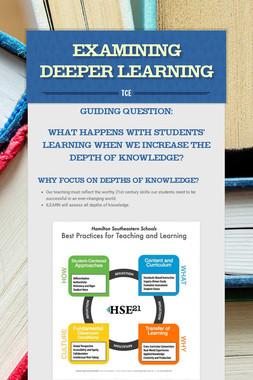 Examining Deeper Learning