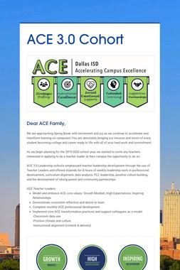 ACE 3.0 Cohort