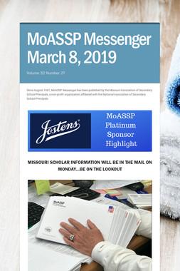 MoASSP Messenger March 8, 2019