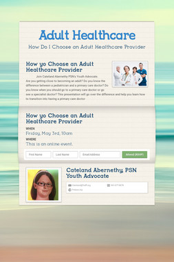 Adult Healthcare