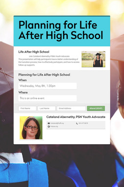 Planning for Life After High School