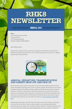 RHK8 Newsletter