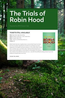 The Trials of Robin Hood