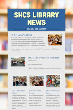 SHCS Library News