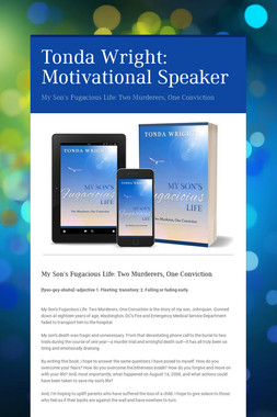 Tonda Wright: Motivational Speaker