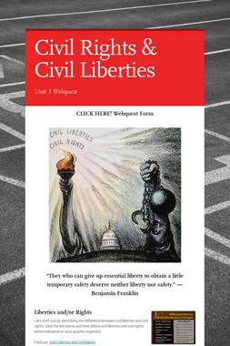 Civil Rights & Civil Liberties