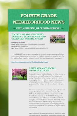 Fourth Grade Neighborhood News