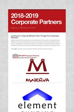 2018-2019 Corporate Partners