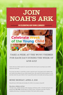 Join Noah's Ark